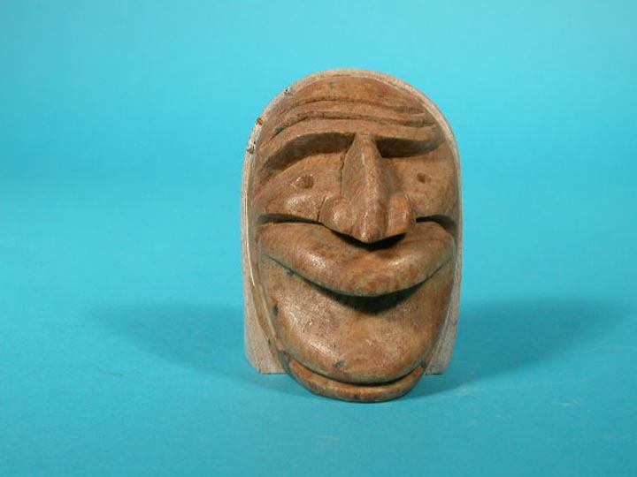 Iroquois False Face Carving: Gallery Item