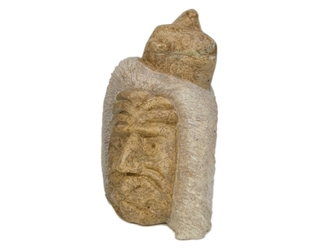 Iroquois Soapstone Carving: Gallery Item