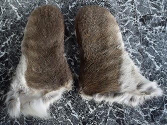 Reindeer Gloves: Long: Pair: Gallery Item mitts