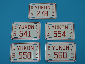 Yukon License Plate: Gallery Item