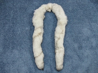 Blue Fox Fling: Gallery Item fox flings, fox fur flings, fox fur boas, fox fur scarves