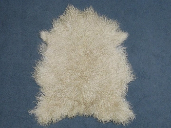 Angora Goatskin: #1: Medium: White: Gallery Item