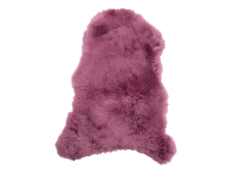 Dyed Icelandic Sheepskin: Shorn: 90-100cm: Fuchsia: Gallery Item