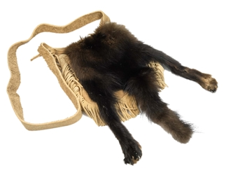 Fisher Tail and Feet Bag: Gallery Item