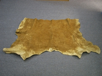 Non-Native Smoked Moosehide Piece: Gallery Item