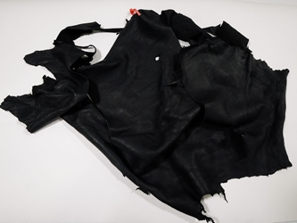 Deerskin Leather: #1/#2: Black: Gallery Item