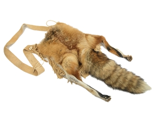 Red Fox Tail and Feet Bag: Gallery Item fox face bags
