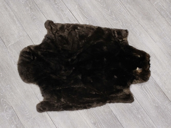 Sheared Beaver Rug: Gallery Item