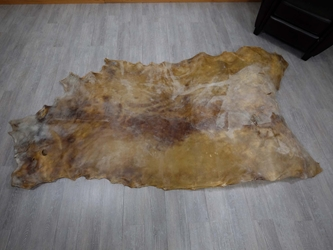 Cow Rawhide: Full Hide: Thick: Natural: Gallery Item